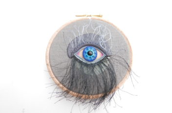 smokey eye embroidery
