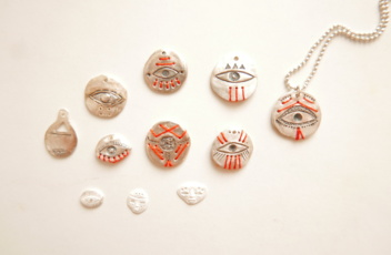 the collection of sterling silver bnecklaces