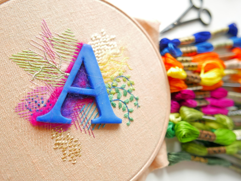 embroidery monogram