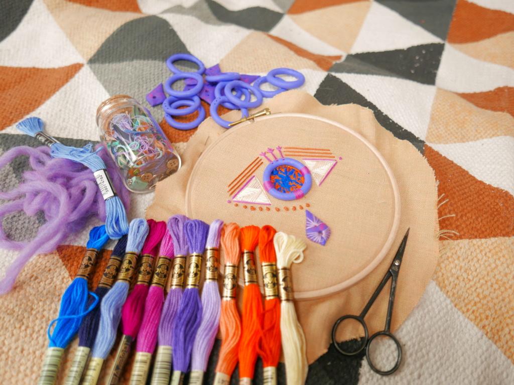 warsztaty kreatywnego haftu