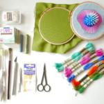 Materiały i przybory niezbędne do haftu